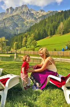 Summer holiday in Austria with the whole family at guesthouse Berghof Wildau.